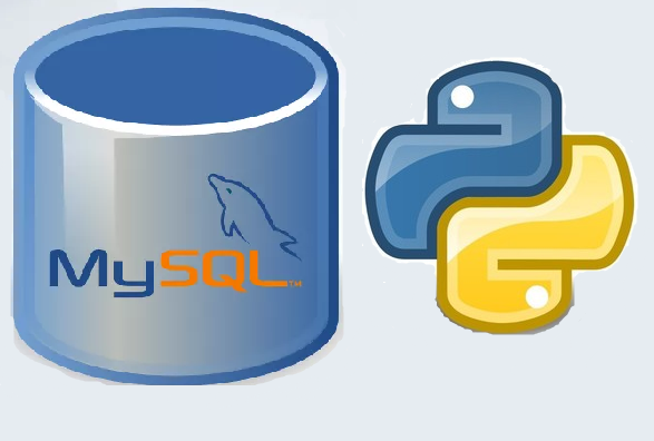 MySQL and Python Logos